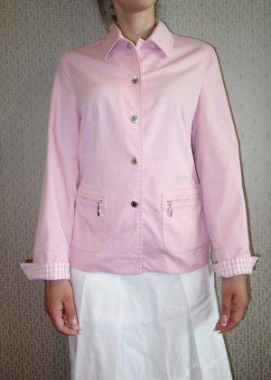 Hauber Blazer rosa claro-gris claro