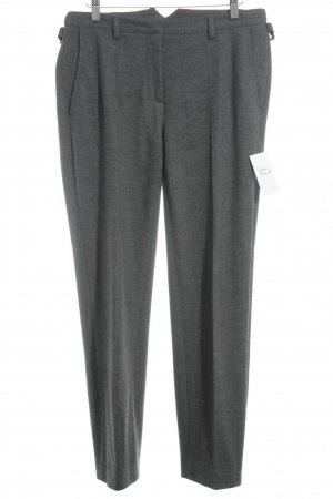 Hauber Stoffhose grau Business-Look
