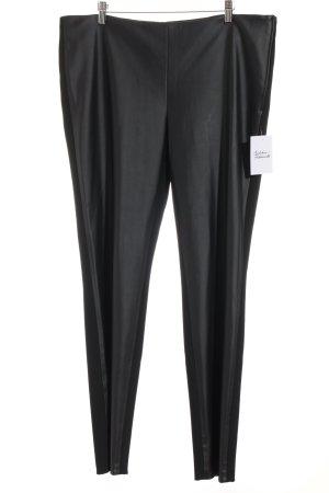 Hauber Pantalone jersey nero elegante