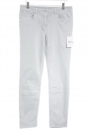 Hauber Stretch Jeans light grey classic style