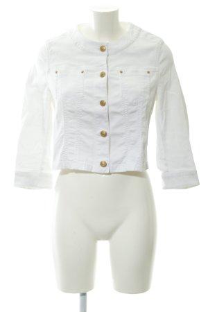 Hauber Übergangsjacke weiß Elegant