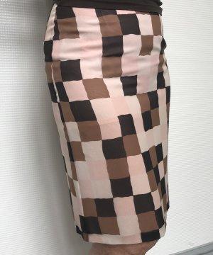 René Lezard Zijden rok veelkleurig