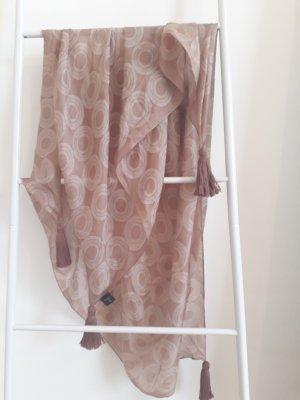 Codello Foulard en soie vieux rose soie