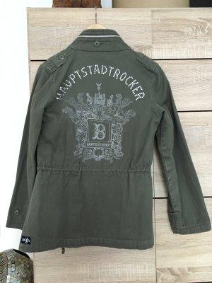 Haupstadtrockerjacke khaki Größe S
