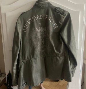 Look 54 Military Jacket green grey
