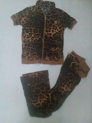 Haus/Trainingsanzug mit Leopardenmuster