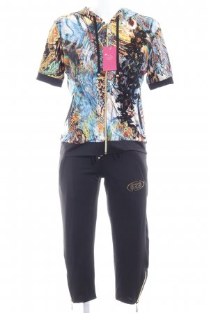 Leisure suit abstract pattern extravagant style