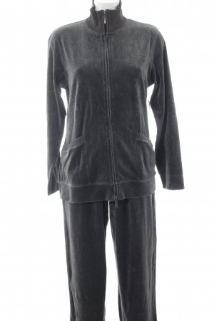 Leisure suit anthracite fluffy