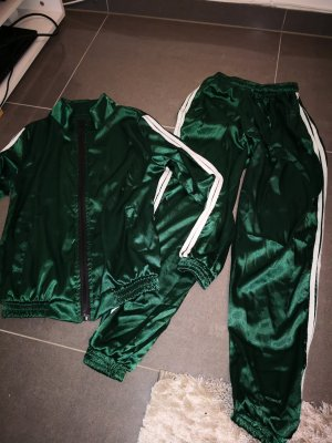 Leisure suit forest green