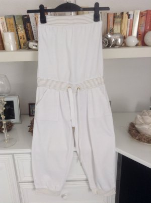 Leisure suit white-gold-colored