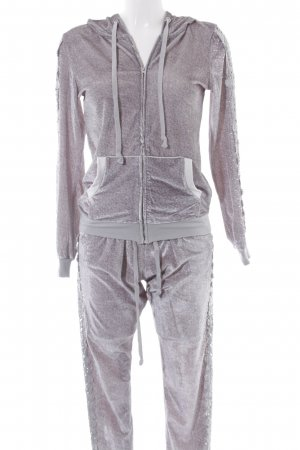 Leisure suit grey-light grey flecked casual look