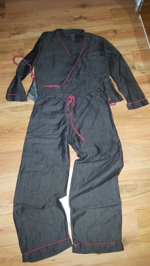 Bassetti Vrijetijdskleding zwart bruin-donkerrood
