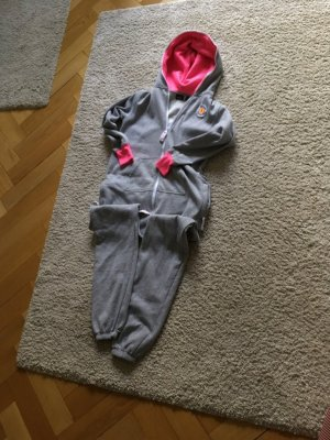 2117 of Sweden Leisure suit grey-neon pink