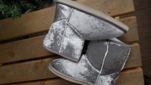 House Boots light grey