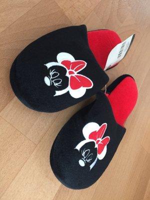Disney Ciabatta aperta nero-rosso