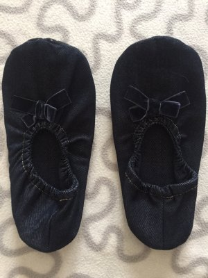 Slipper Socks dark blue