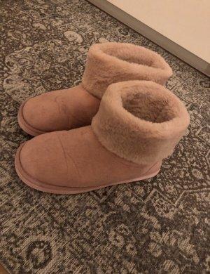 Asos Slipper Socks apricot-light pink
