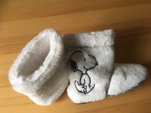 Slipper Socks white-black mixture fibre