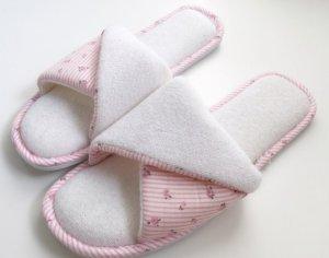 Hausschuhe Frottee Slipper Badeschuhe Latschen 38 - 39