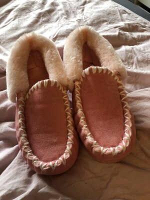 Botas de fieltro rosa-rosa