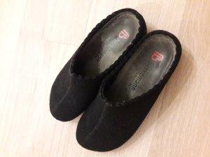 Berkemann Pantofola da casa nero