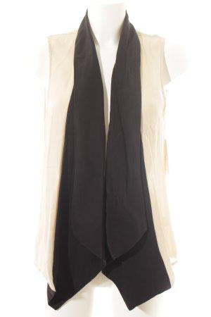 Haute hippie ärmellose Bluse nude-schwarz Elegant