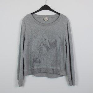 HAUTE HIPPIE Sweatshirt Gr. M grau (18/10/137/R)