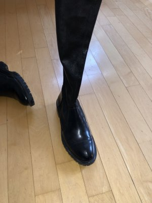 Hautenge overknee Stiefel vom Zara