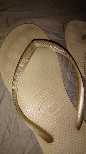 Havaianas Flip-Flop Sandals bronze-colored-sand brown