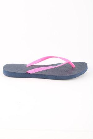 Havaianas Flip Flop Sandalen blau-pink Casual-Look
