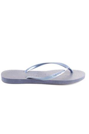 Havaianas Flip Flop Sandalen hellgrau-blau Casual-Look