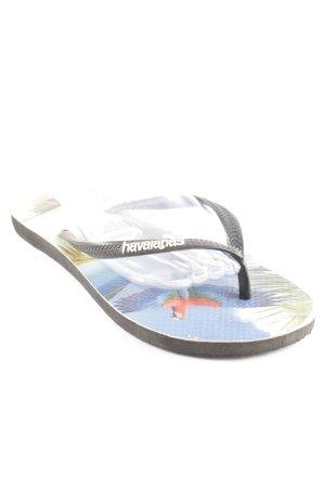 Havaianas Flip Flop Sandalen Allover-Druck Beach-Look