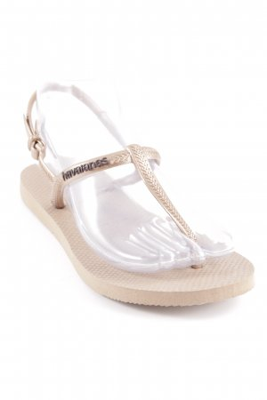 Havaianas Flip-Flop Sandals bronze-colored casual look