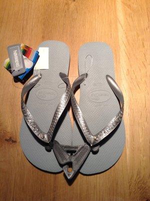Havaianas Flip Flop Sandalen Gr. 41 42 mit Swarovski Steinen