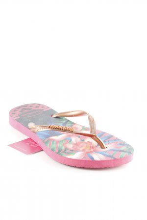 "Havaianas Flip-Flop Sandals ""H.Slim Tropical Rosa"""