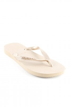 "Havaianas Flip-Flop Sandals ""H.Top Metallic Rose Gold"""