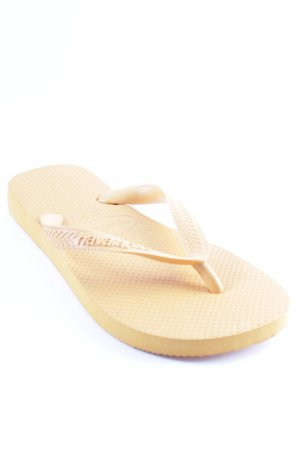 Havaianas Flip Flop Sandalen orange Beach-Look