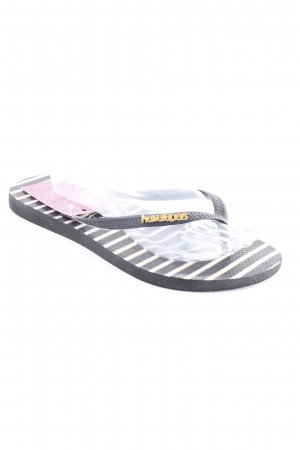 Havaianas Flip-Flop Sandals striped pattern beach look