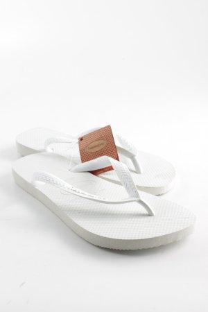 Havaianas Flip Flop Sandalen weiß Beach-Look