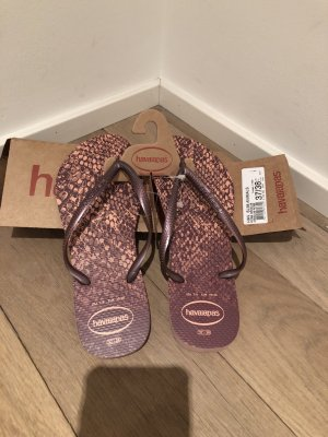 Havaianas FlipFlops rose animalprint