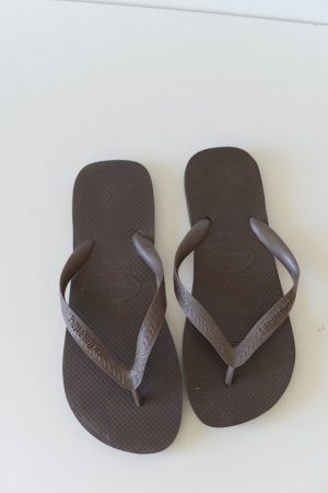 Havaianas Toe-Post sandals brown red