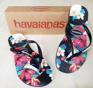 Havaianas im angesagten tropical Design (Größe 37/38 slim) - NEU mit Original-Karton!!