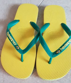 Havaianas Toe-Post sandals yellow-green