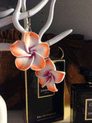 Hawaii Blumen Ohrringe