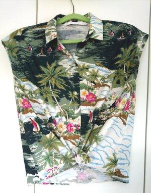 Zara Trafaluc Chemise hawaïenne multicolore coton