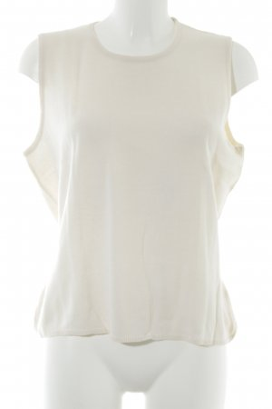 HAWICK Stricktop creme Casual-Look