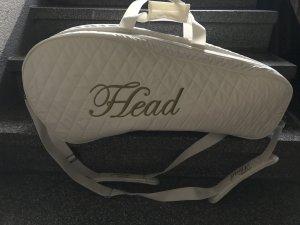 Head Bolsa de gimnasio crema-color oro