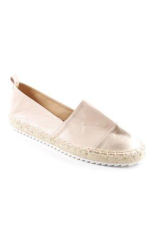 Head over heels Espadrilles-Sandalen altrosa-roségoldfarben Casual-Look