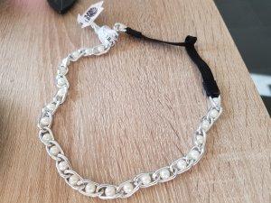 Accessorio per capelli bianco-argento