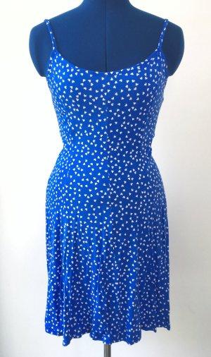 Jersey Dress blue-white